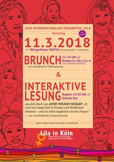 Brunch zum internationalen Frauentag 2018